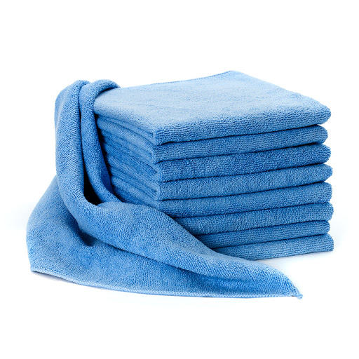 Pack of 10 Microfibre Cloths